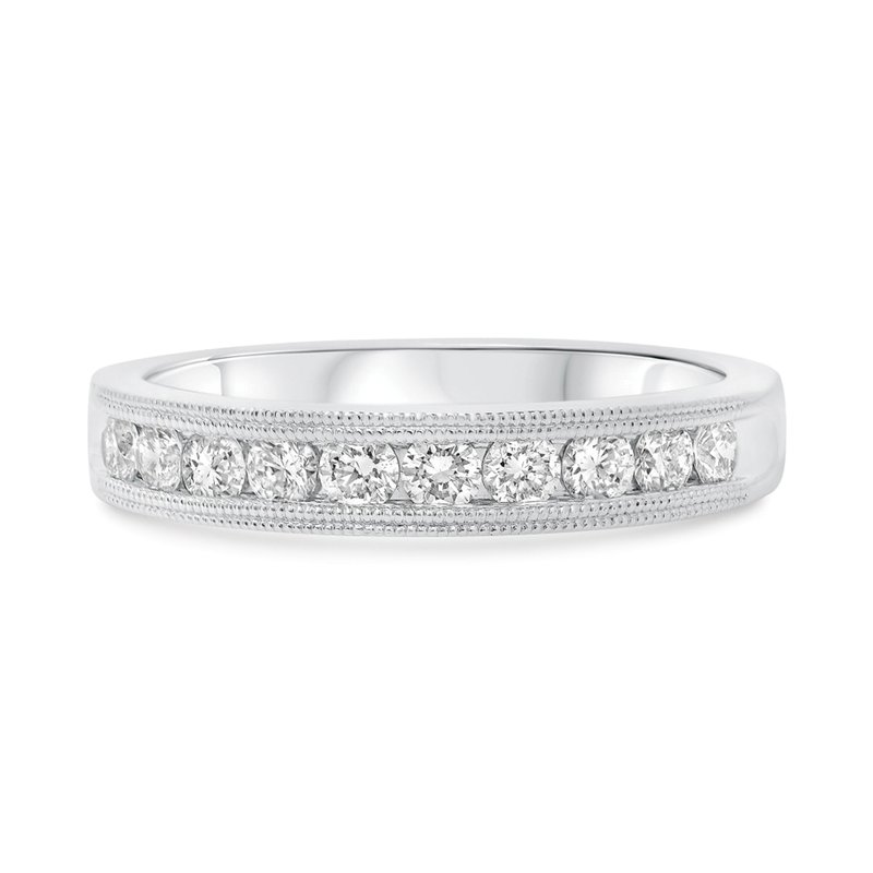 Continental Collection 0.50 ctw Channel Set Diamond Band
