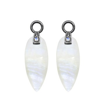 ANGEL WINGS 20MM MOONSTONE EARRING JACKETS