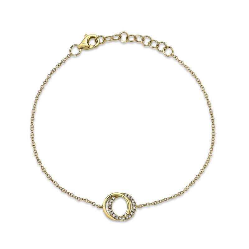 Shy Creation 0.07 ctw Diamond Bracelet