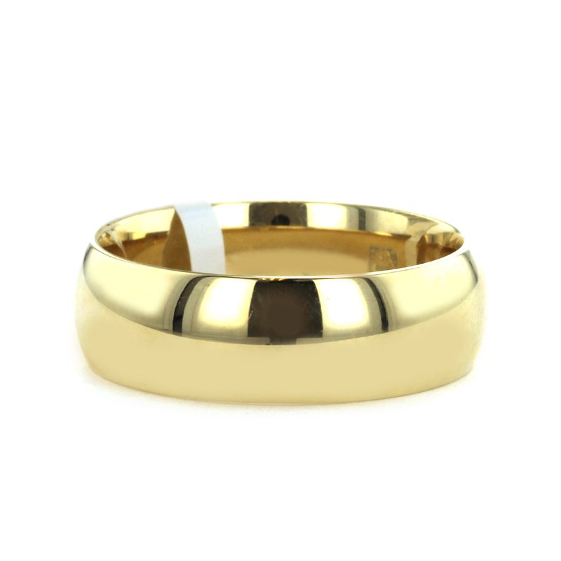 Continental Collection 7MM High Dome Polished Band