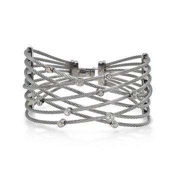0.23 ctw Diamond Bangle Bracelet