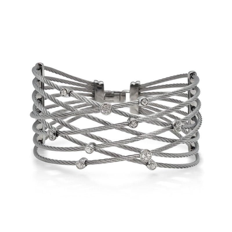 ALOR 0.23 ctw Diamond Bangle Bracelet