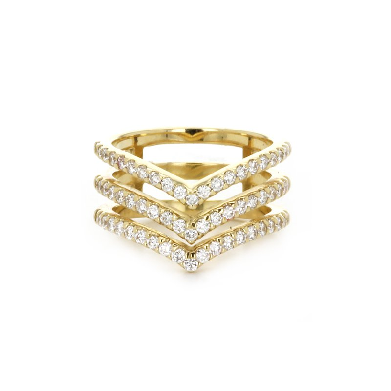 Signature Collection V Band Ring