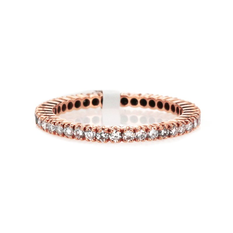 Continental Collection 0.70 ctw Eternity Diamond Band