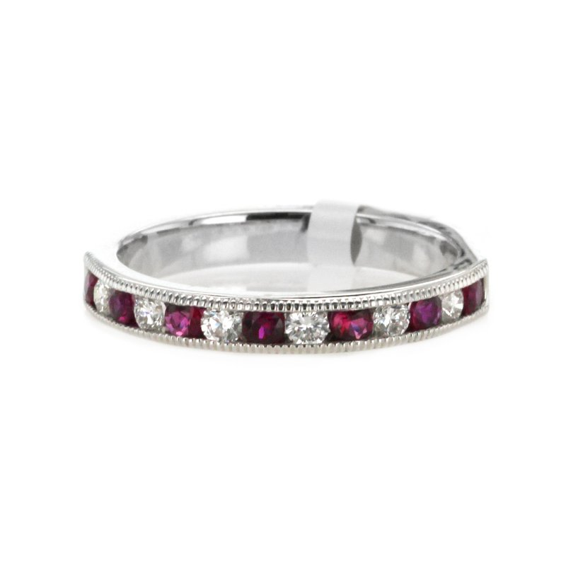Signature Collection Ruby & Diamond Band