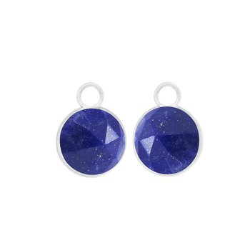 LAPIS PETAL ROUND EARRING JACKETS