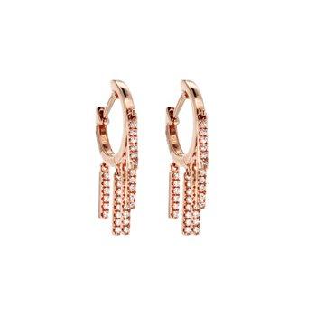 0.21 ctw Diamond Huggie Earrings