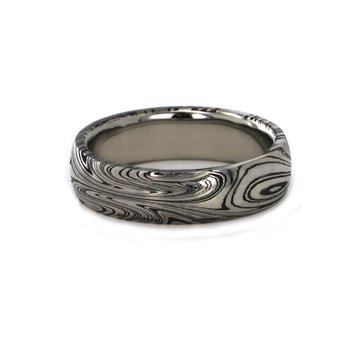 6MM Damascus Steel Band
