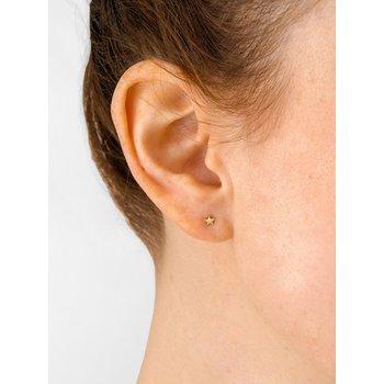 Micro Star Post Earrings