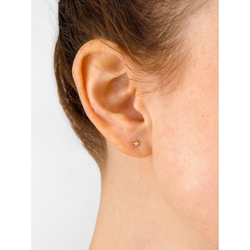 Anzie Micro Star Post Earrings