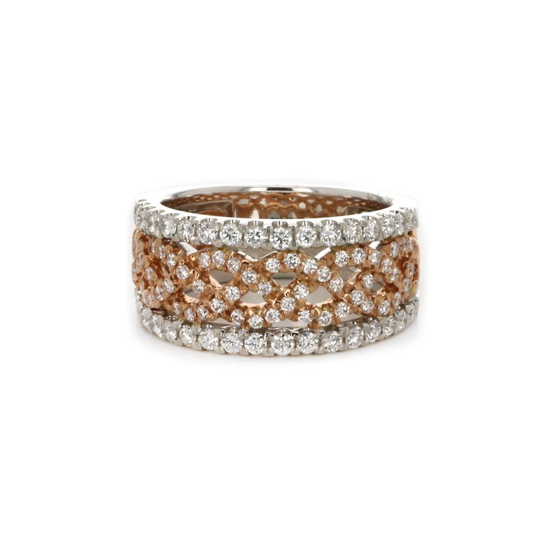 Continental Collection Diamond Wide Band