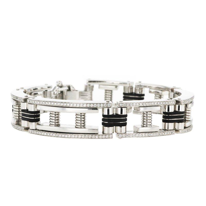 Amazing Mark Downs 1.70 ctw Diamond Pave Bracelet