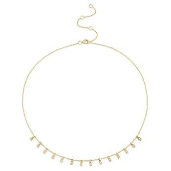 0.34 ctw Diamond Collar Necklace