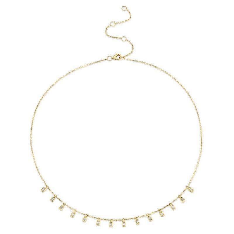 Shy Creation 0.34 ctw Diamond Collar Necklace