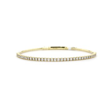 1.45 ctw Diamond Bangle Bracelet