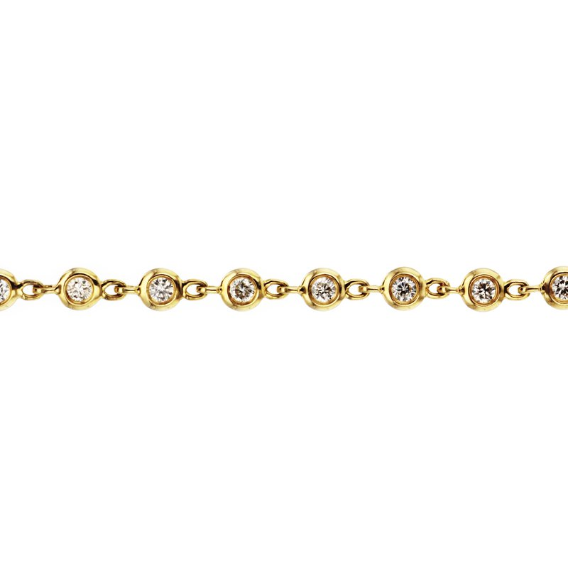 Continental Collection 0.87 ctw Diamonds By The Yard Bracelet