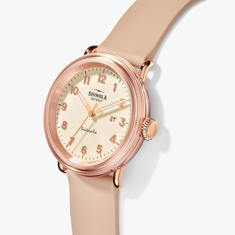 Shinola THE PINKY DETROLA 43MM