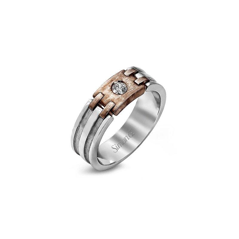 Simon G Jewelry 0.13 ctw Diamond Band