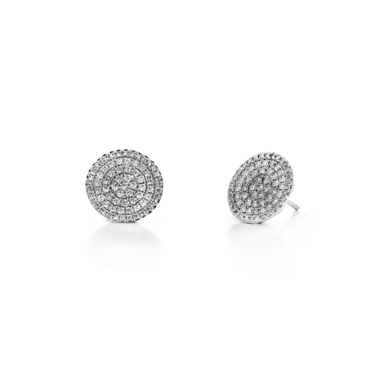 Continental Collection Diamond Pave Earrings