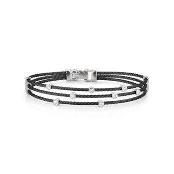 0.18 ctw Diamond Bangle Bracelet
