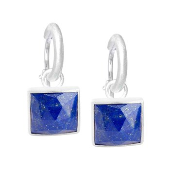 SQUARE LAPIS EARRING JACKETS