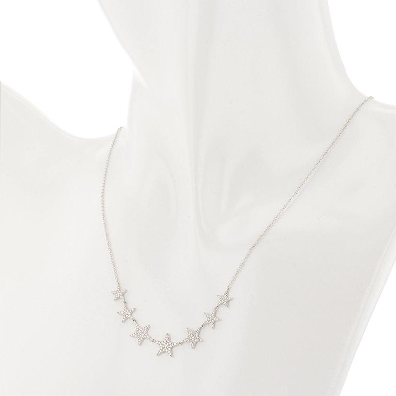 Shy Creation 0.35 ctw Diamond Collar Necklace