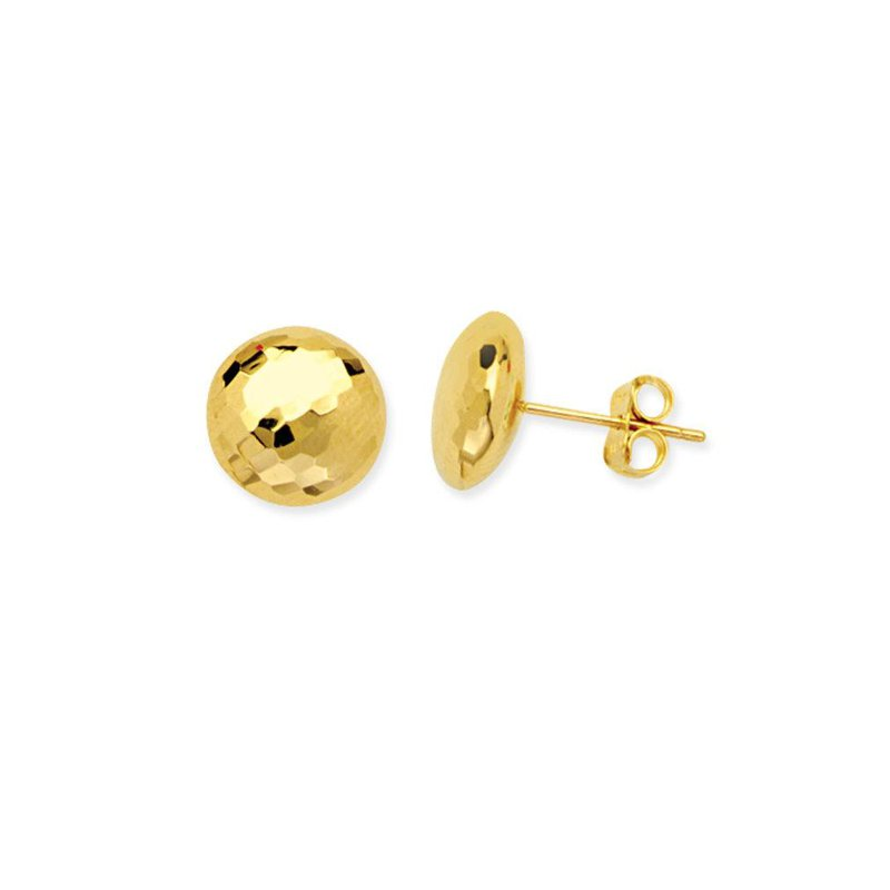 Continental Collection Button Post Earrings