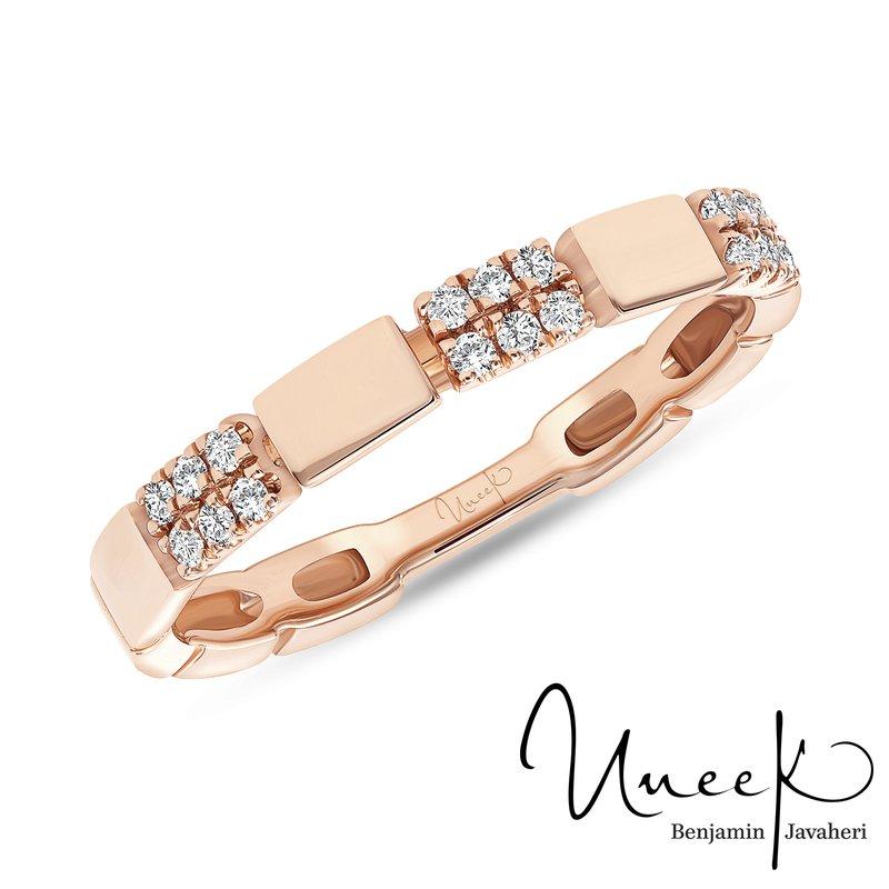 Uneek Fine Jewelry 0.11 ctw diamond band