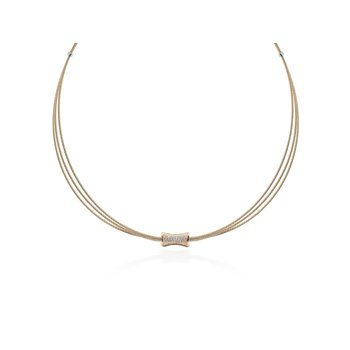 0.21 ctw Diamond Collar Necklace