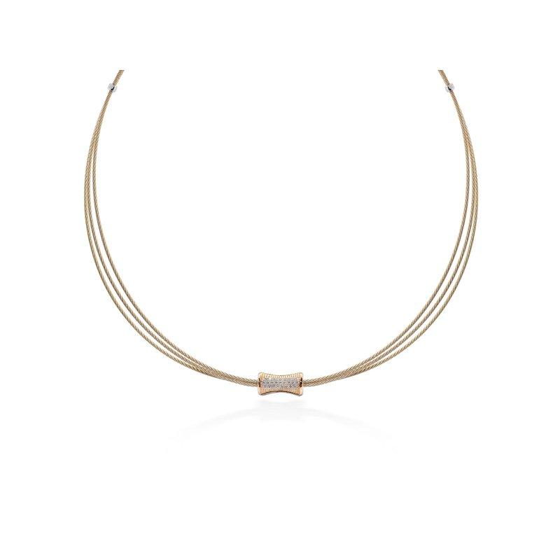 ALOR 0.21 ctw Diamond Collar Necklace