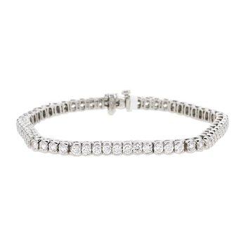4.41 ctw Diamond Tennis Bracelet