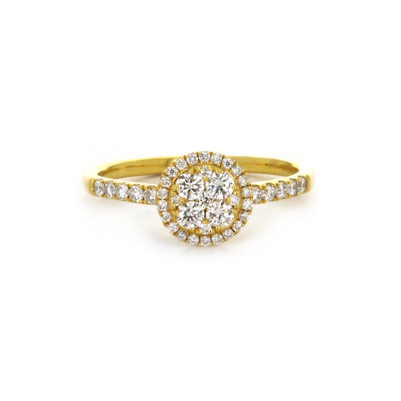 Continental Collection Diamond Cluster Ring
