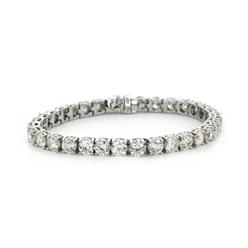 17.45 ctw Diamond Tennis Bracelet
