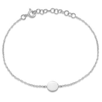 Round Disc Bracelet - Engravable