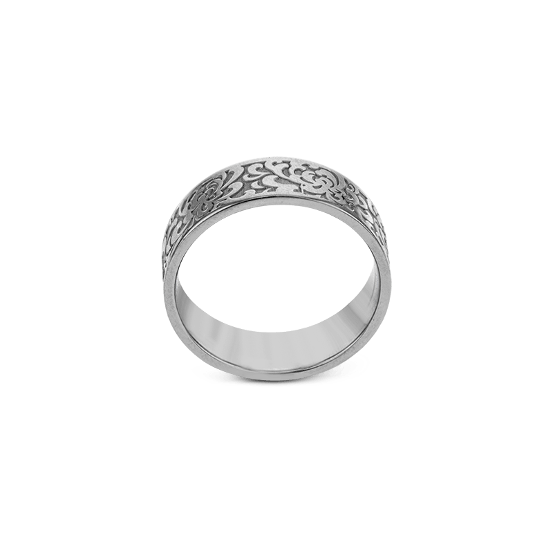 Simon G Jewelry Textured Band