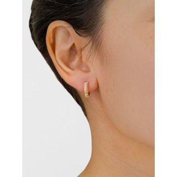 0.17 ctw Diamond Huggie Earrings