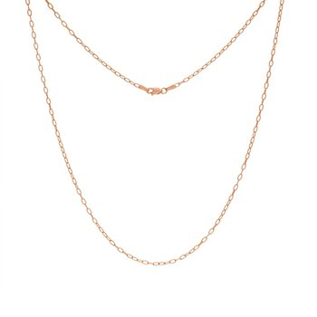 "24"" 2.1MM Paper Clip Necklace"