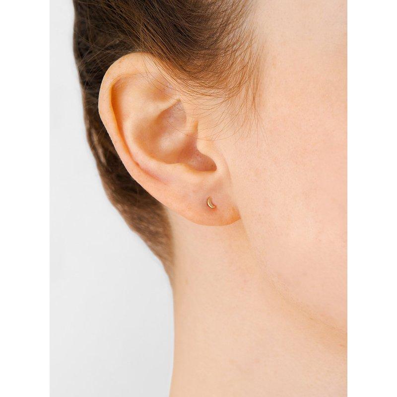 Anzie Moon Post Earrings