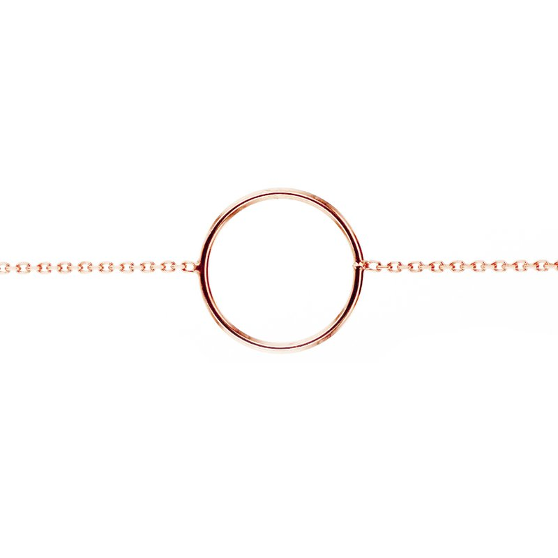 Continental Collection Open Circle Bracelet