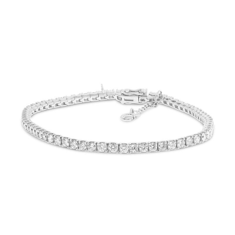 Continental Collection 4.00 ctw Diamond Tennis Bracelet