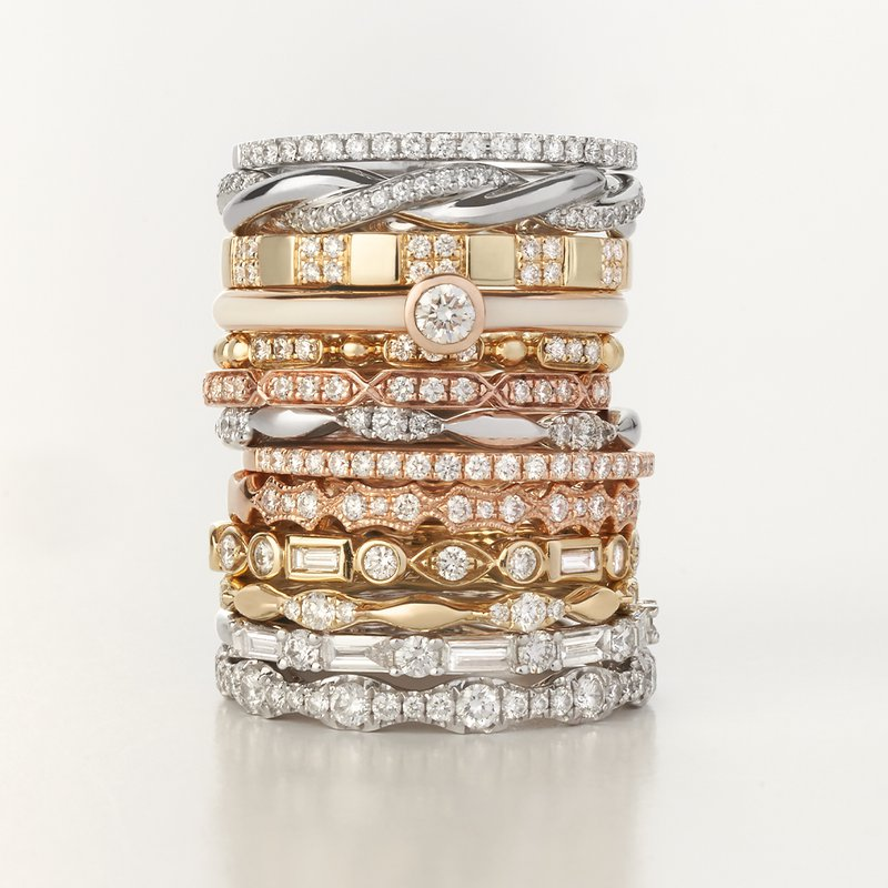 Continental Collection 0.15 ctw Diamond Band