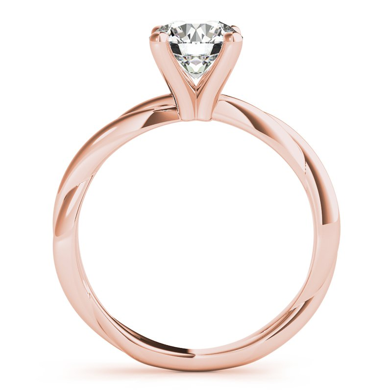 Twist Setting Engagement Ring Mounting