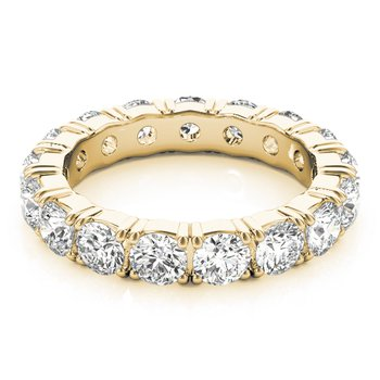 Prong Set Diamond Eternity Band