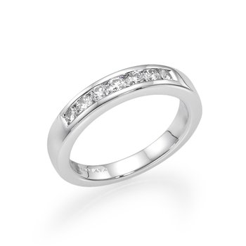 Platinum .36 Ctw Wedding Band