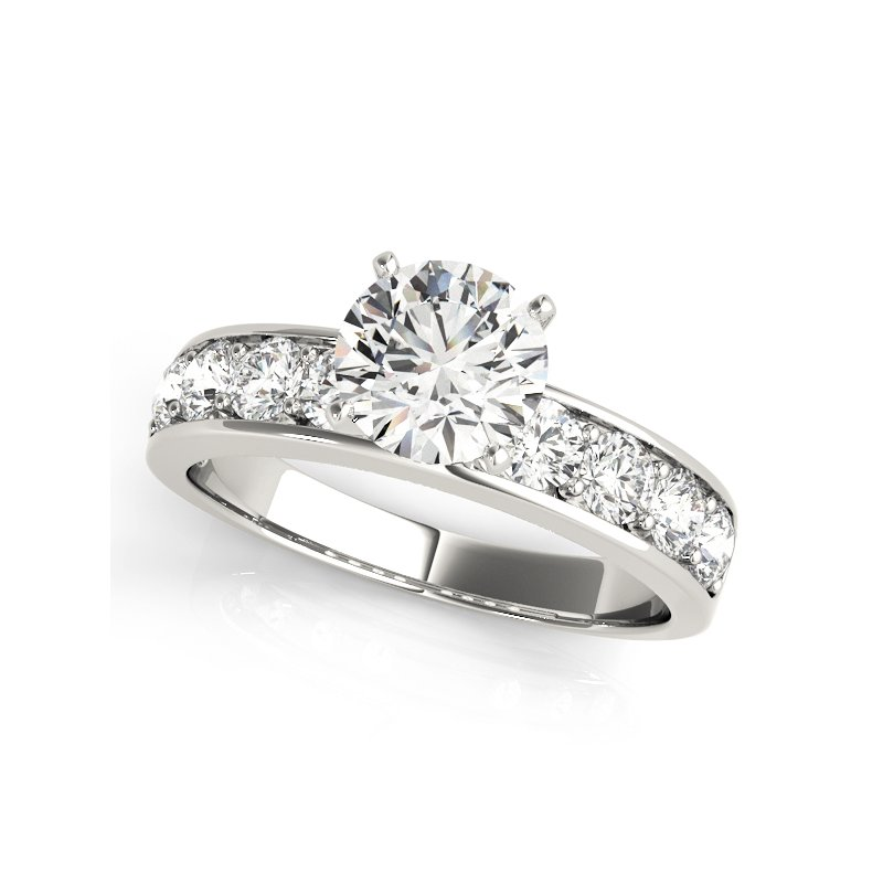 Classic Channel Engagement Ring Mounting