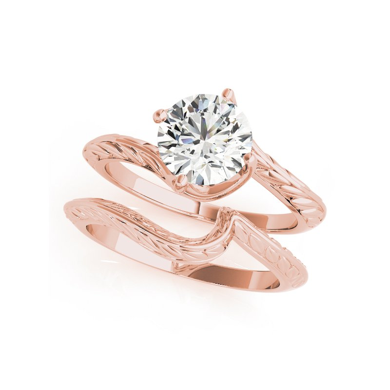 Filigree Bypass Solitaire Engagement Mounting