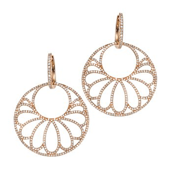 Vintage Diamond Fashion Earrings