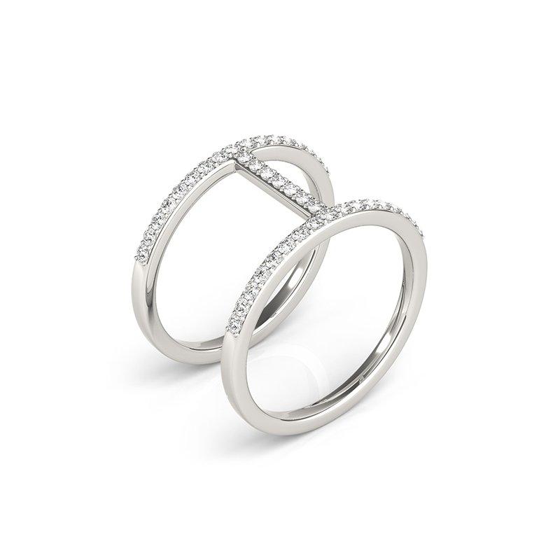 Modern Diamond Fashion Ring