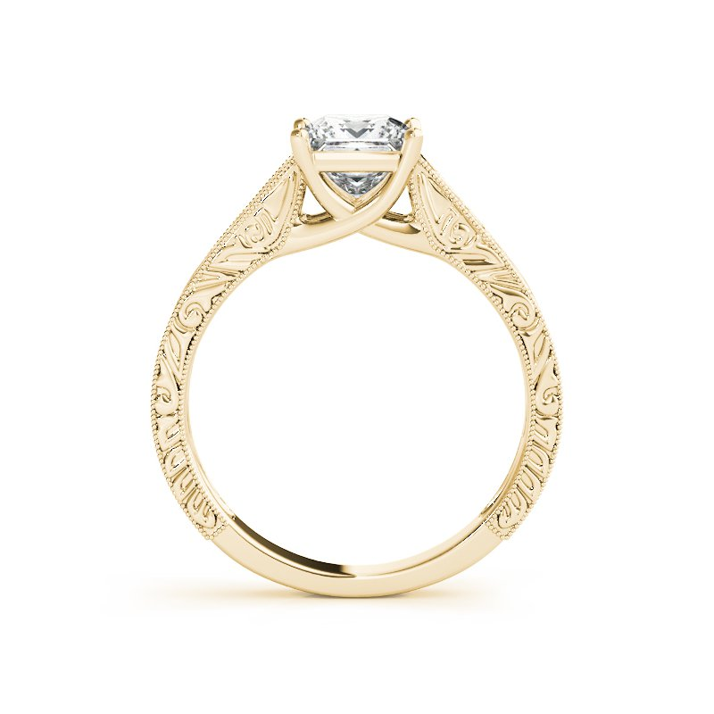 Filigree Detailed Solitaire Engagement Mounting