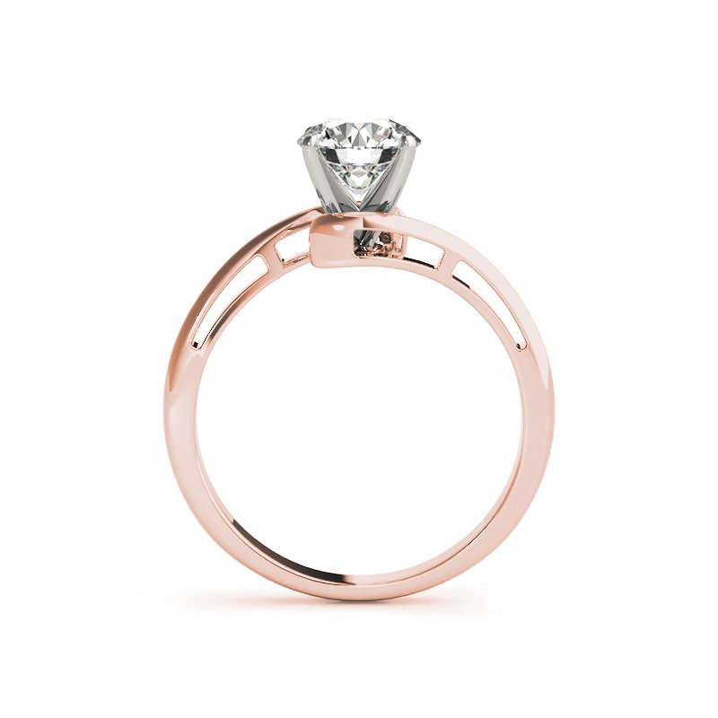 Bypass Solitaire Engagement Mounting